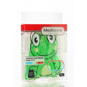MEDIBLINK Cold/Hot pack beads Frog 6 x 6 cm M124