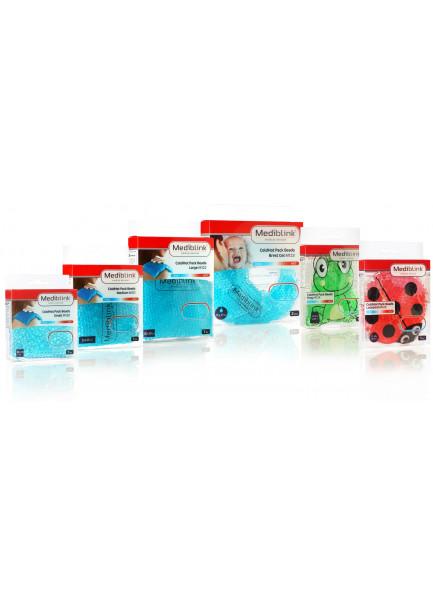 MEDIBLINK Cold/Hot pack beads Frog 6 x 6 cm M124