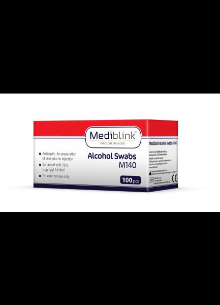 MEDIBLINK Alcohol Swabs M140